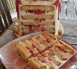 Drip cake printanier