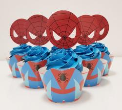 cupcake à thème Spiderman_1