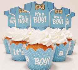 cupcake à thème body garçon _1