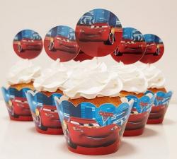 cupcake à thème  Cars_1