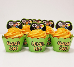 cupcake à thème console de jeu_1