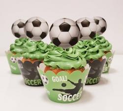 cupcake à thème  Foot_1