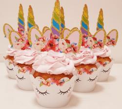 cupcake à thème licorne_1
