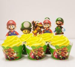 cupcake à thème Mario_1