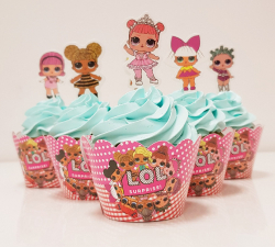 cupcake à thème Poupée LOL_1