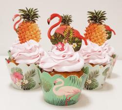 cupcake à thème tropical_1