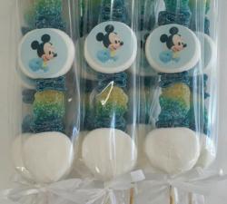 brochette bonbons bébé mikey personnamisé_1